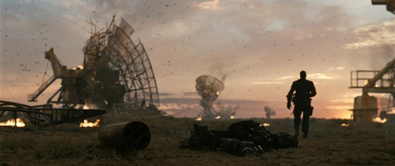 Una scena di Terminator Salvation