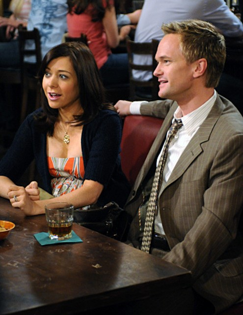 Alyson Hannigan e Neil Patrick Harris in una scena dell'episodio The Stinsons di How I Met Your Mother