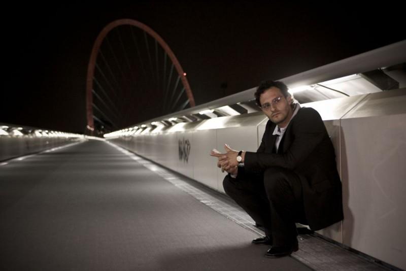 Fabio Troiano in una scena del film Tutta colpa di Giuda
