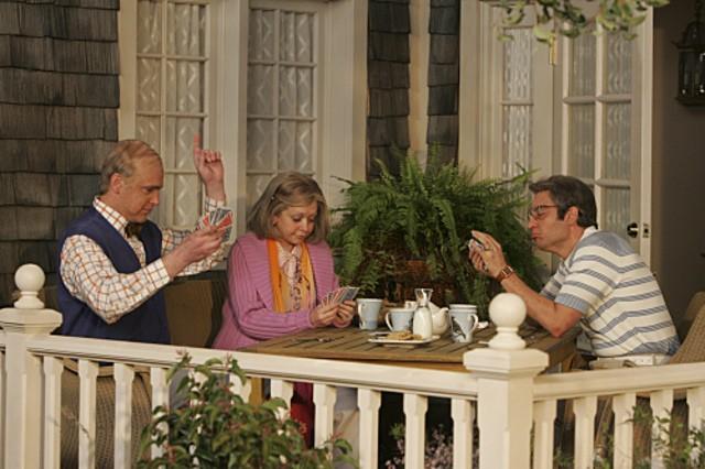 Josh Radnor, Jason Segel in una scena dell'episodio The Front Porch di How I Met Your Mother