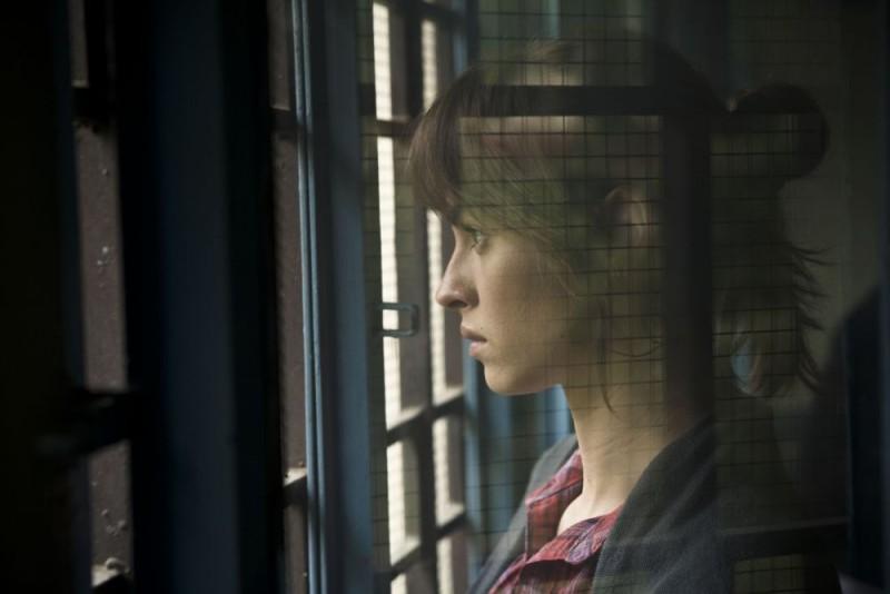 Kasia Smutniak in una sequenza del film Tutta colpa di Giuda