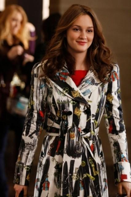 Leighton Meester è Blair nell'episodio The Grandfather di Gossip Girl