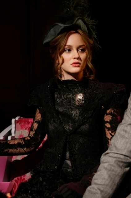 Leighton Meester in un momento dell'episodio The Age of Dissonance di Gossip Girl