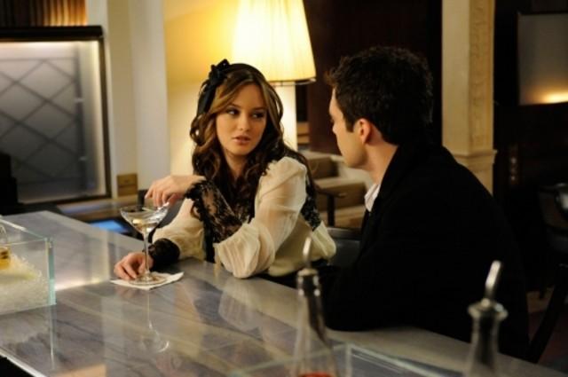 Leighton Meester nell'episodio The Age of Dissonance di Gossip Girl