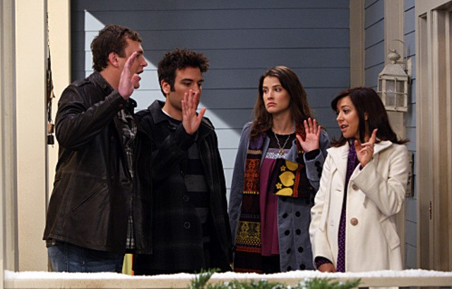 Una foto di scena dell'episodio The Stinsons di How I Met Your Mother