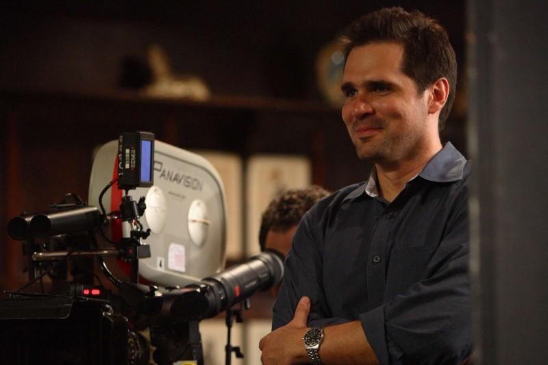 Il regista Sean McGinly sul set del film The Great Buck Howard