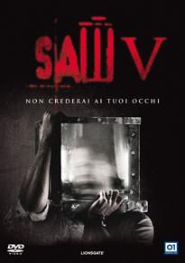 La copertina di Saw V (dvd)
