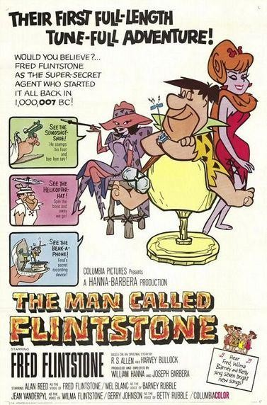 La locandina di Un uomo chiamato Flintstone