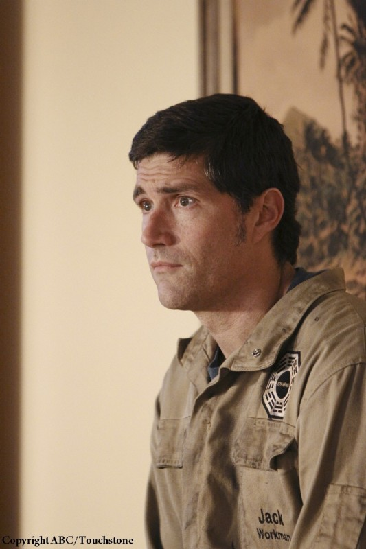 Matthew Fox nell'episodio Whatever Happened, Happened di Lost