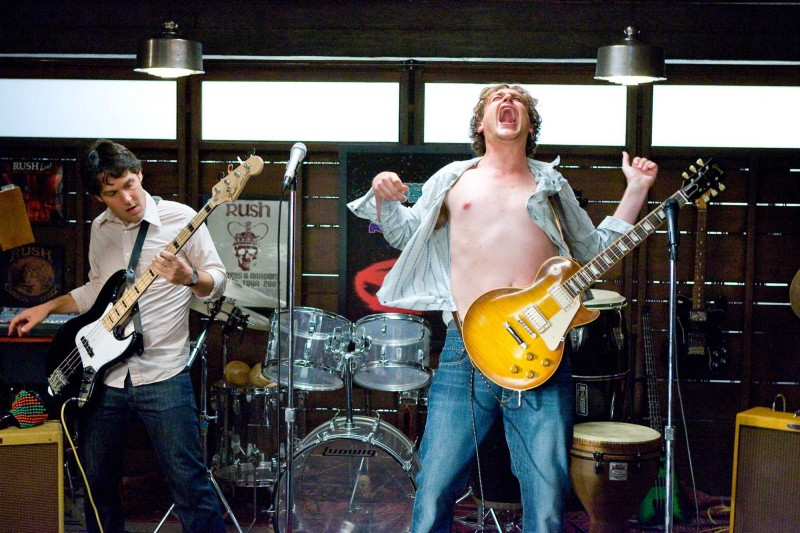 Paul Rudd e Jason Segel in una scena del film I Love You, Man
