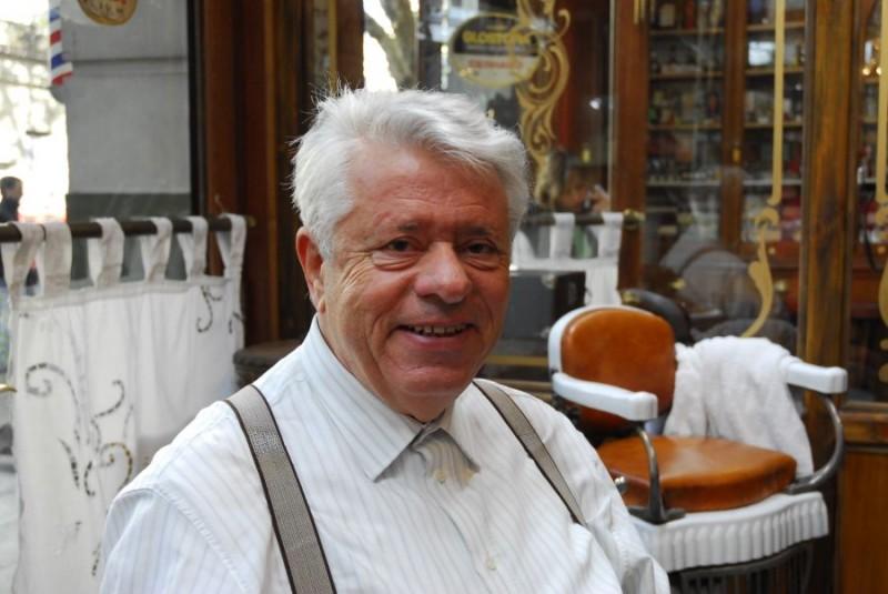 Lino Toffolo sul set del film tv Scusate il disturbo