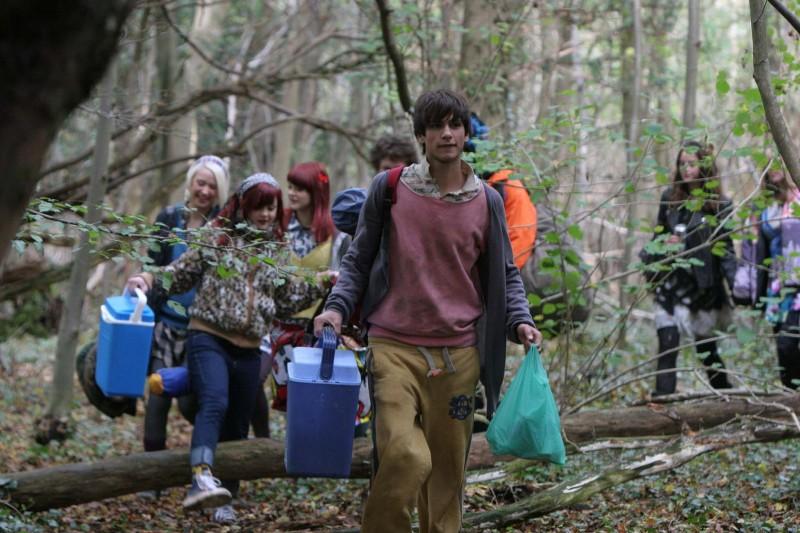Luke Pasqualino in una foto promozionale dell'episodio 'Effy' della terza stagione della serie tv Skins