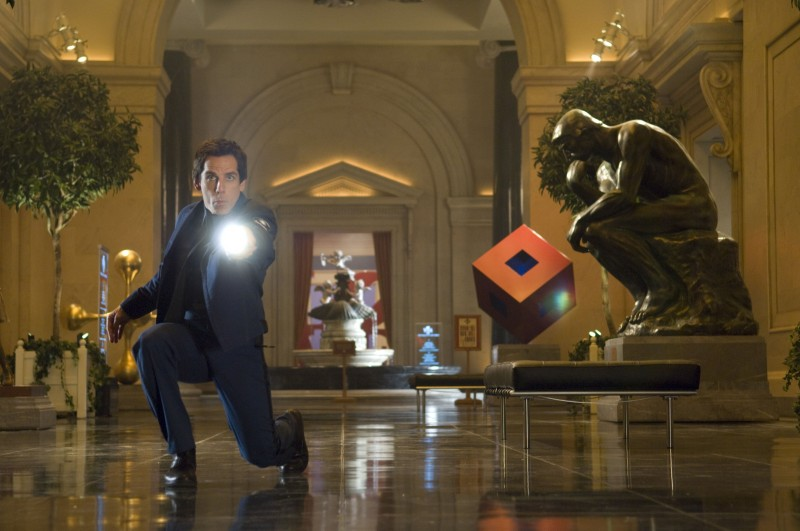 Ben Stiller in una sequenza di Una notte al museo 2: la fuga