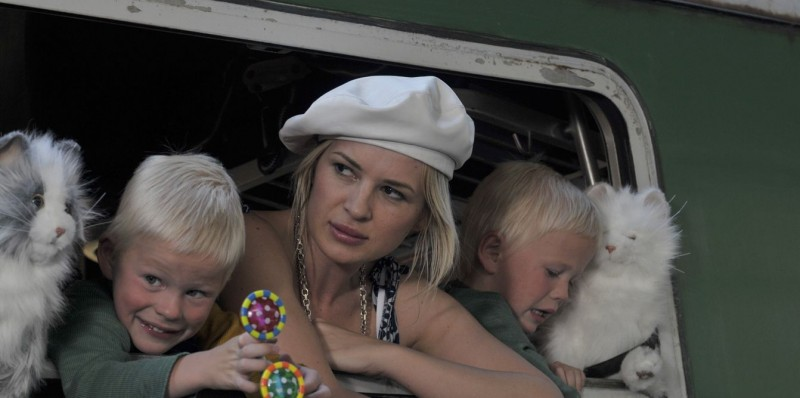 Kierston Wareing in una sequenza del film Il caso dell'infedele Klara