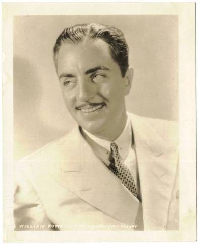 L\'attore William Powell