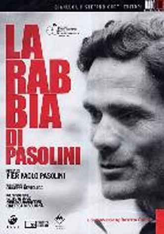 La copertina di La rabbia di Pasolini (dvd)