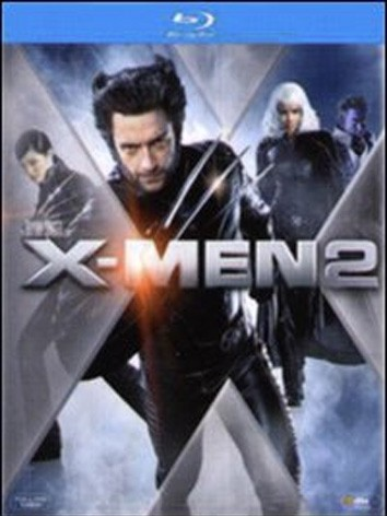 La copertina di X-Men 2 (blu-ray)