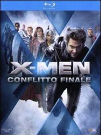 La copertina di X-Men: Conflitto finale (blu-ray)