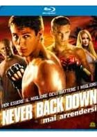 La copertina di Never Back Down (blu-ray)