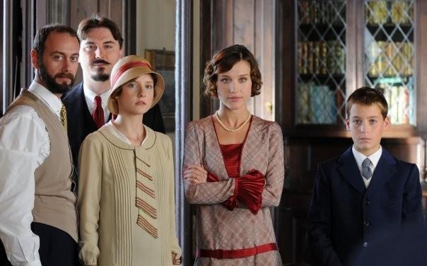 Una scena del film TV con Gabriella Pession Lo smemorato di Collegno