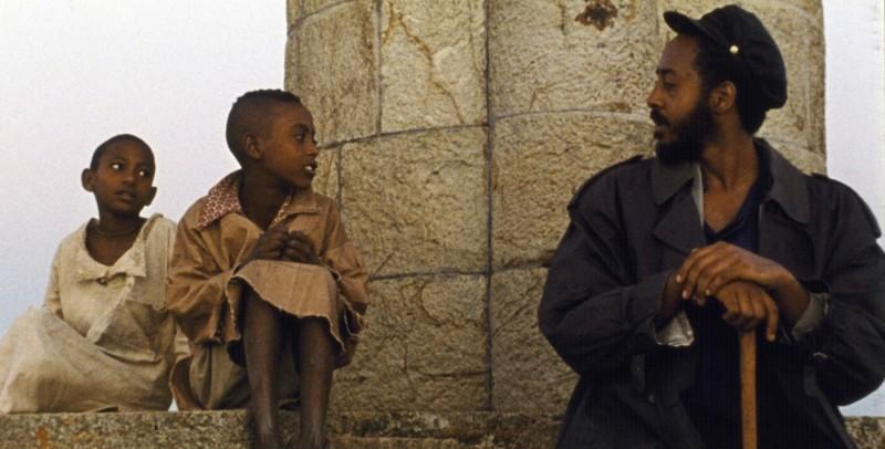 Aaron Arefe in un'immagine del film Teza