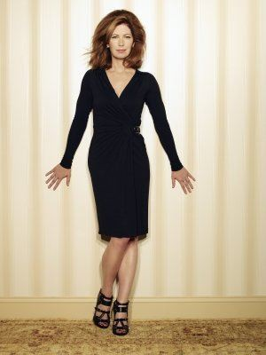 Dana Delany è Catherine Mayfair in una foto promo della quinta stagione di Desperate Housewives