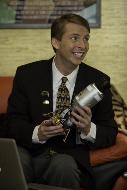 Jack McBrayer in una scena dell'episodio Cutbacks di 30 Rock