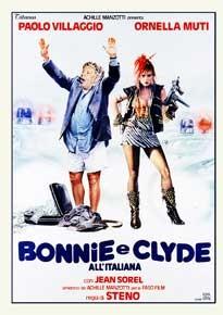 La copertina di Bonnie e Clyde all'italiana (dvd)