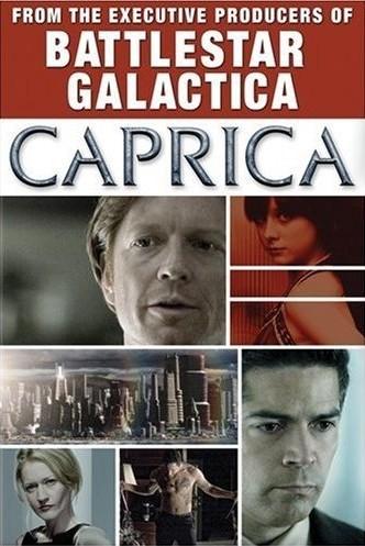 La locandina di Caprica