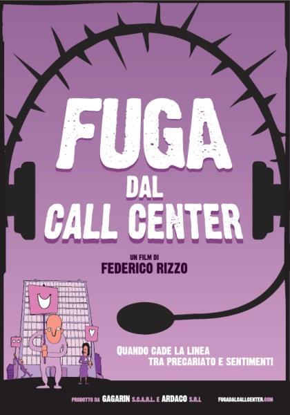 La locandina di Fuga dal call center