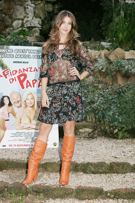 Martina Pinto alla presentazione de La fidanzata di papà