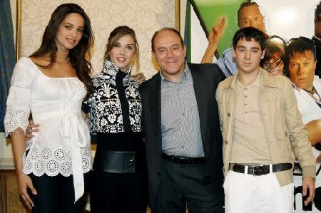Martina Pinto con Carlo Verdone alla presentazione di Grande Grosso e Verdone
