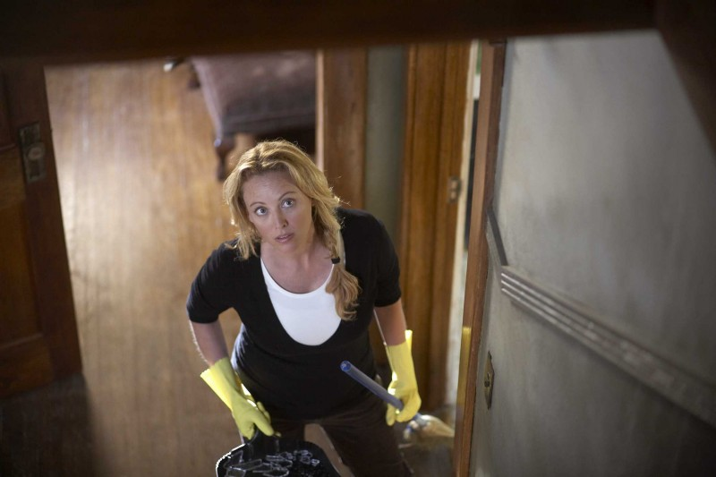 Virginia Madsen in una scena del film The Haunting in Connecticut