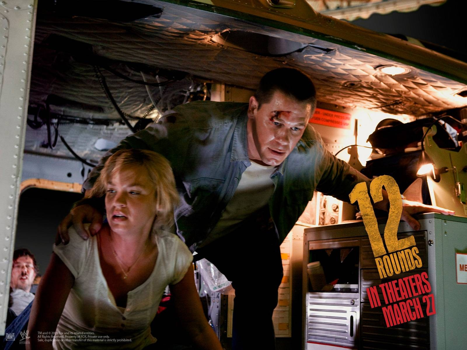 Wallpaper del film 12 Rounds con John Cena