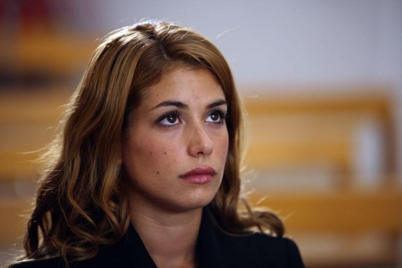 Giulia Michelini in una scena della serie tv Squadra Antimafia - Palermo oggi