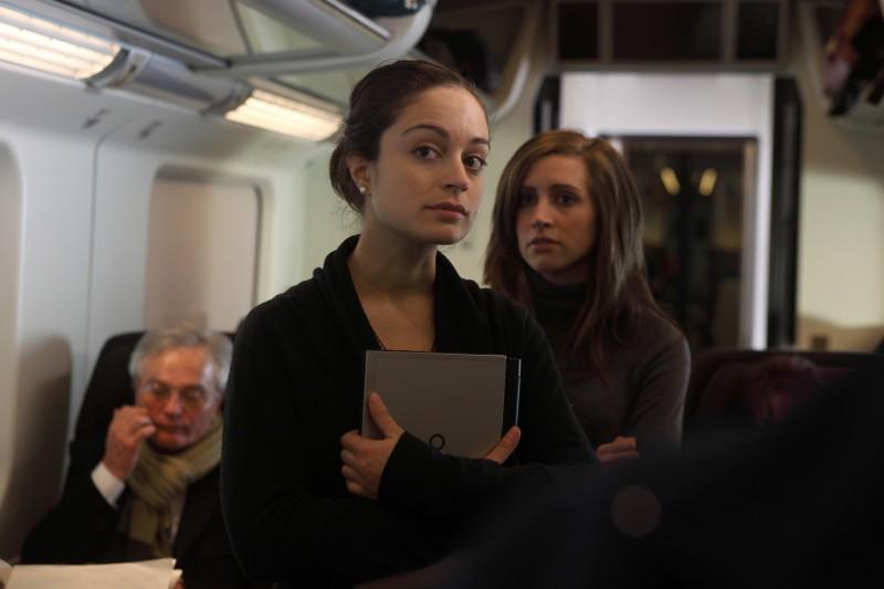 Maral Kinran e Stefania Berselli nel corto 'Il premio' di Ermanno Olmi, parte del progetto PerFiducia