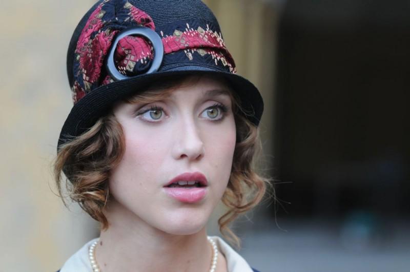 Gabriella Pession in un'immagine del film tv Lo smemorato di Collegno