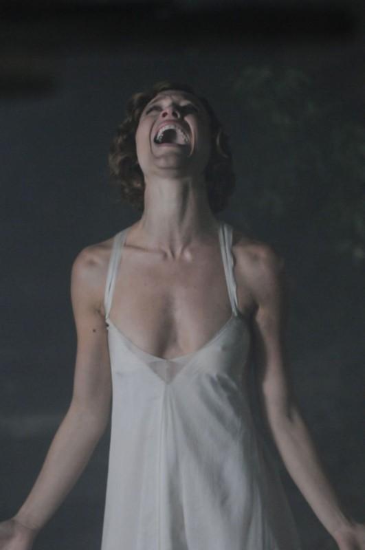 Gabriella Pession in una scena de Lo smemorato di Collegno
