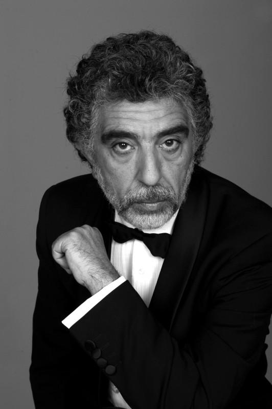 L\'attore Pino Calabrese