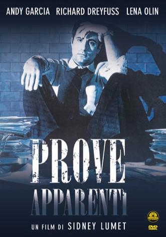 La copertina di Prove apparenti (dvd)