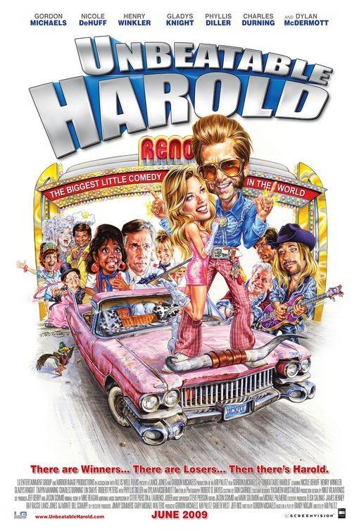 La locandina di Unbeatable Harold