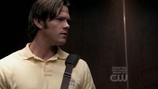 Jared Padalecki nell'episodio 'It's a Terrible Life' della quarta stagione di Supernatural