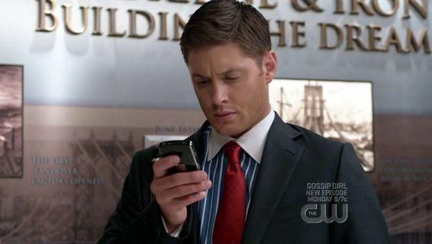 Jensen Ackles in una scena dell'episodio 'It's a Terrible Life' della quarta stagione di Supernatural