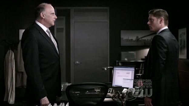 Jensen Ackles e Kurt Fuller nell'episodio 'It's a Terrible Life' della quarta stagione di Supernatural