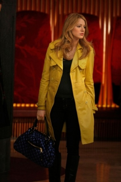 Blake Lively in un momento dell'episodio 'Remains of the J' della serie tv Gossip Girl