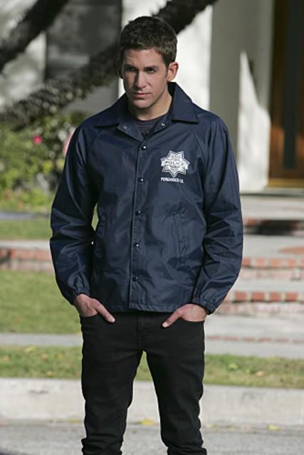 Eric Szmanda nel ruolo di Greg Sanders nell'episodio 'No Way Out' della nona stagione di CSI