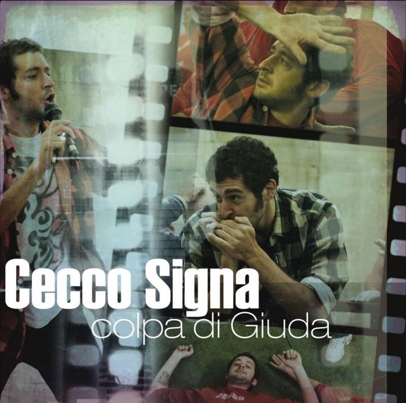 La copertina del disco di Cecco Signa, autore della colonna sonora del film Tutta colpa di Giuda - Una commedia con musica
