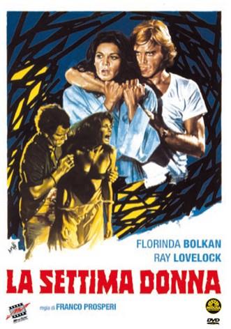 La copertina di La settima donna (dvd)