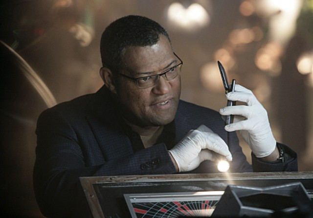 Laurence Fishburn nell'episodio 'A Space Oddity' della serie tv CSI: Crime Scene Investigation
