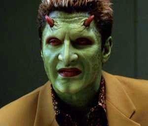 Andy Hallett in una immagine della serie Angel
